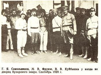 Sokolnikov 8 armija 1919 g.jpg
