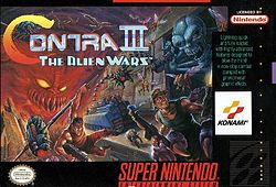 Contra III cover art
