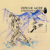 Обложка сингла «Everything Counts» (Depeche Mode, 1983)