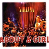 Обложка сингла «About a Girl» (Nirvana, 1994)