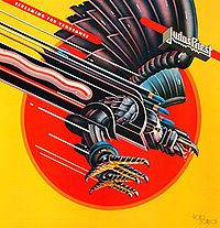 Обложка альбома Judas Priest «Screaming for Vengeance» (1982)