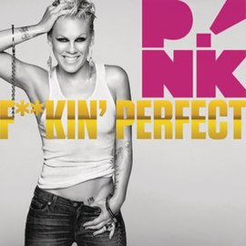 Обложка сингла Pink «Fuckin' Perfect» (2010)