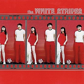 Обложка альбома The White Stripes «The White Stripes» (1999)