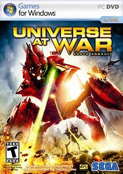 Оболожка игры Universe at War Earth Assault .jpg
