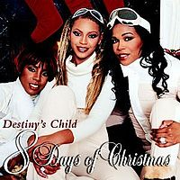 Обложка альбома Destiny's Child «8 Days Of Christmas» (2001)