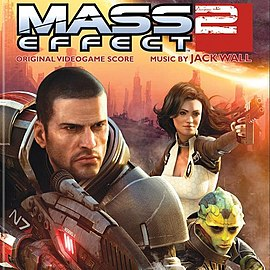 Обложка альбома «Mass Effect 2: Original Game Soundtrack» ()