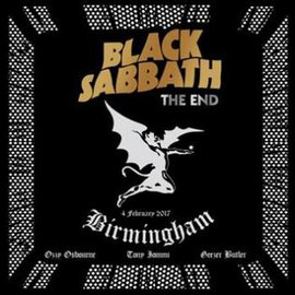 Обложка альбома Black Sabbath «The End: Live in Birmingham» (2017)