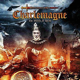 Обложка альбома Кристофера Ли «Charlemagne: The Omens of Death» (2013)