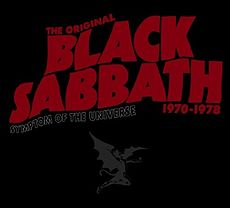 Обложка альбома Black Sabbath «Symptom of the Universe: The Original Black Sabbath 1970–1978» (2002)