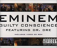 Обложка сингла «Guilty Conscience» (Эминема при участии Dr. Dre, 1999)