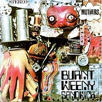Обложка альбома Фрэнка Заппы с The Mothers of Invention «Burnt Weeny Sandwich» (1970)