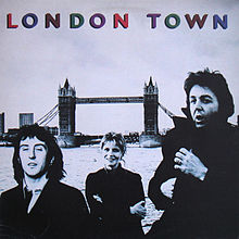 Обложка альбома Wings «London Town» (1978)