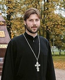 Целовать член священника