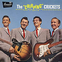 "Обложка альбома The Crickets «The ""Chirping"" Crickets» (1957)"