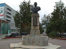 Бюст А. И. Покрышкина, Новосибирск.JPG