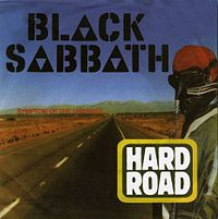 Обложка сингла «A Hard Road» (Black Sabbath, 1978)