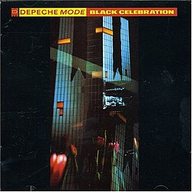 Обложка альбома Depeche Mode «Black Celebration» (1986)