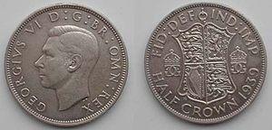 Английская крона сколько стоит 1 копейка 1949 года цена