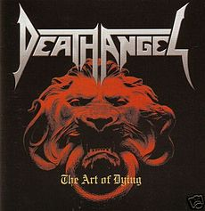 Обложка альбома Death Angel «The Art of Dying» (2004)