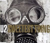 Обложка сингла «Sweetest Thing» (U2, 1998)