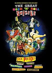 Обложка видеофильма «Великое надувательство рок-н-ролла» (1979)