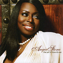 Обложка альбома Angie Stone «The Art of Love & War» (2007)