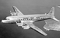 Douglas DC-4 компании Canadian Pacific Air Lines