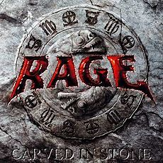 Обложка альбома Rage «Carved In Stone» (2008)