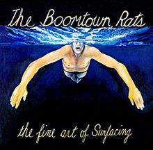 Обложка альбома The Boomtown Rats «The Fine Arts of Surfacing» (1979)