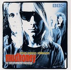 Обложка альбома Mudhoney «Here Comes Sickness: The Best of the BBC» (2000)