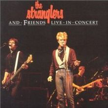 Обложка альбома The Stranglers «The Stranglers & Friends Live in Concert» (1980)