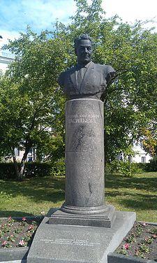 Памятник Д.Е.Васильеву
