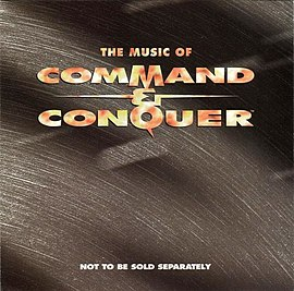 Обложка альбома Фрэнка Клепаки «The Music of Command & Conquer» (1995)