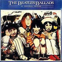 Обложка альбома The Beatles «The Beatles' Ballads» (1964)