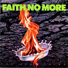 Обложка альбома Faith No More «The Real Thing» (1989)