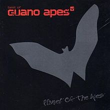Обложка альбома Guano Apes «Planet of the Apes» (2004)