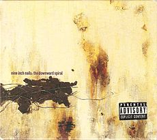 Обложка альбома Nine Inch Nails «The Downward Spiral» (1994)