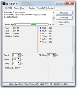 SpeedFan 4.45 (2011) PC