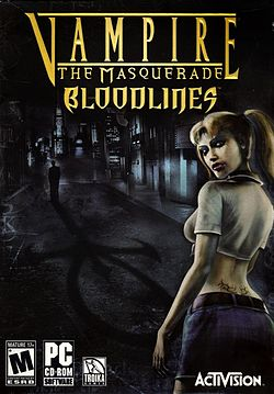 Обложка для Vampire: The Masquerade Bloodlines