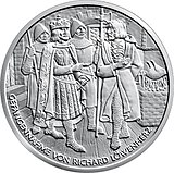 10 Euro - Richard the Lionheart in Dürnstein back.jpg