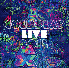 Обложка альбома Coldplay «Coldplay Live 2012» (2012)