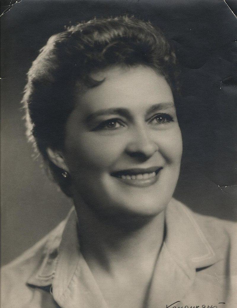 Наталья Андросова-Искандер, 1950-е годы