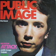 Обложка альбома Public Image Ltd «First Issue» (1978)
