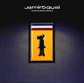 Обложка альбома Jamiroquai «Travelling Without Moving» (1996)