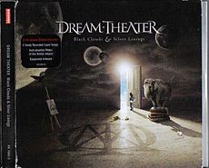Обложка альбома Dream Theater «Black Clouds & Silver Linings» (2009)