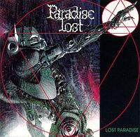 Обложка альбома Paradise lost «Lost Paradise» (1990)