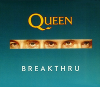 Обложка сингла «Breakthru» (Queen, 1989)