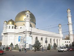 The Central Mosque of Almaty, Kazakhstan.jpg
