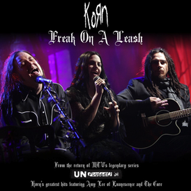 Обложка сингла Korn «Freak on a Leash» (2007)