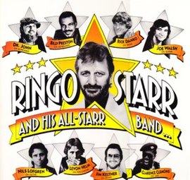 Обложка альбома Ринго Старра «Ringo Starr and His All-Starr Band» (1990)